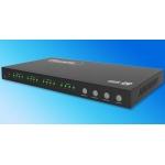 ANGA PS404HD-4K HDMI Matrix, 4 Εισόδων - 4 Εξόδων, 4K*2K@30Hz, 3D 1080P@60Hz, HDCP, DTS, Dolby Digital True HD με Τροφοδοτικό και τηλεχειριστήριο