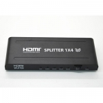 ANGA PS-1004-4K HDMI Splitter, 1 Εισόδου - 4 Εξόδων, 3D 1080P@60Hz, HDMI 1.4Α, HDCP, DTS, Dolby Digital True HD & Τροφοδοτικό