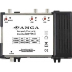 Master 10 Κεντρικός Ενισχυτής ANGA με εισόδους BI+DATA-BIII-UHF Ενίσχυση 40dB/116dBμV 4G LTE ρυθμιζόμενος Συμβατός με επίγεια ψηφιακή