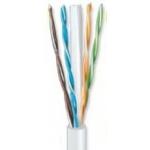 ANGA ST-L03 (100μ) Καλώδιο UTP CAT6 σε Λευκό χρώμα CCA/PVC