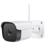 Κάμερα IP Wi Fi ONVIF Bullet ANGA AQ-8102ISW 2 MP 1080P φακός 3.6mm ΙR20M με εφαρμογή CamHi με 12V Power Supply
