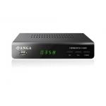 ΝΕΟΣ ΨΗΦΙΑΚΟΣ ΔΕΚΤΗΣ ANGA HD5000T2-H.265 Dolby Digital με διπλό τηλεχειριστήριο